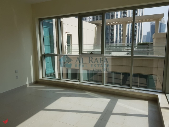 Amazing 1 bed+Study with partial Burj khalifa view