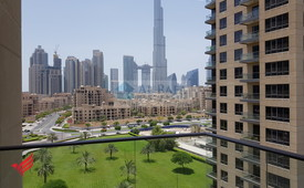Upgraded - Spacious&Bright - 2Br W/Burj Khalifa View