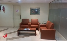 Saba Tower-Furnished office with full lake view