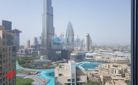 Best deal 3 bed+maids for with Burj and fountain view