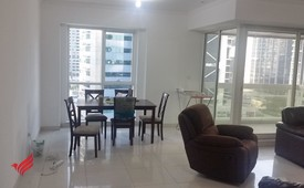 2 Bedroom furnished in front of metro station