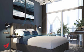Spectacular views of Dubai Canal, Pay 1% Per Month