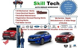 Service, repair,denting. Painting, electrical,AC repair for light vehicles