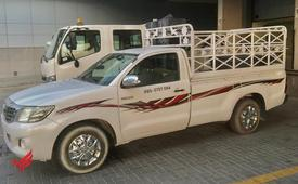 Pickup for rent in Al Barsha 0566474906