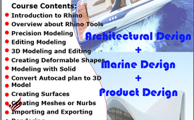 LEARN #RHINO #3D #MODELING  WITH EXPERT FACULTY +971563289424