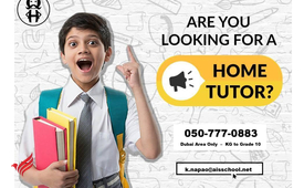 Private Home Tutor (with 7years Home Teaching Experience)