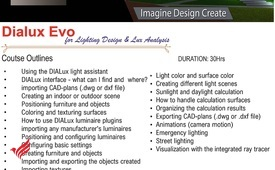 #DIALux Evo #training / #Course from experts - #BIM.