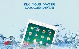 Repair your water damage devices with guarantee.