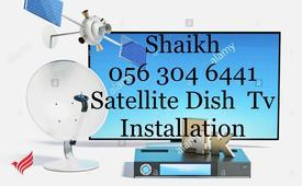 Satellite Dish tv Installation 0563046441 Airtel Services In Dubai