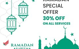 Ramadan Offer 30% off all type of Services Charges +971547042033