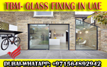 Office Room Glass Partition Work Company UAE