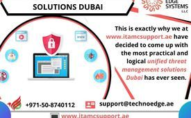 For consolidated Unified Threat Management solutions Dubai