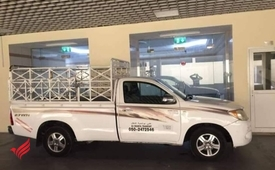 pickup truck for rent in international city 0555686683