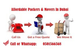 0501566568 Movers in Dubai Single item Home|Office Movers