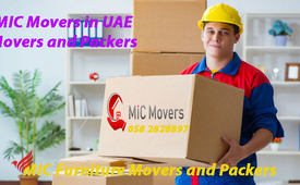 MIC Movers and Packers Dubai 058 2828897