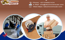Hire the best movers and packers Dubai - A to Z movers & Storage