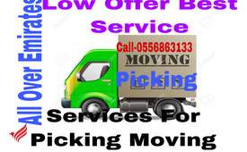 MOVING AND PICKING CALL 055 6863133 ALL OVER UAE SERVICES
