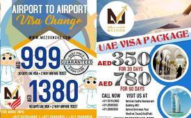 Mezoon UAE Travel Airport to Airport visa change