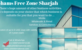 General Trading License from AED 16500-Call #0503972138 Shams Free Zone