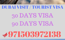 Get Dubai Visit Visa for 1 Month & 3 Month in 1 day #+971503972138