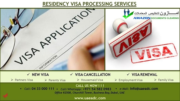Residency Visa Processing Services