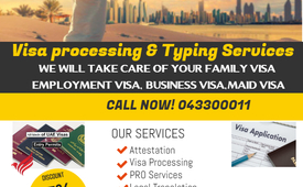 Amazon Visa service providers, Documents and Clearing.