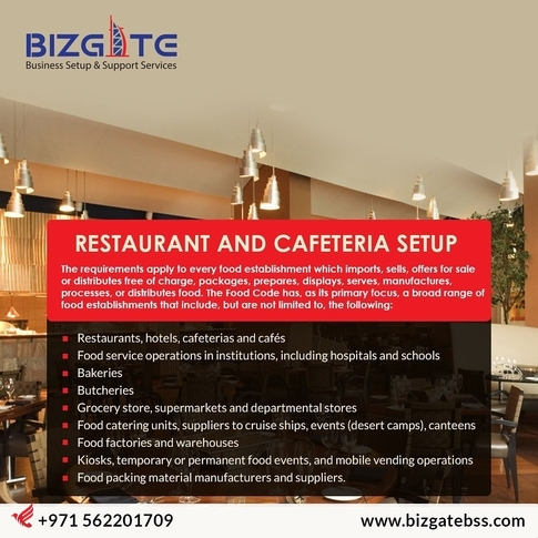 START YOUR OWN RESTUARANT OR CAFETERIA IN UAE WITHIN FEW DAYS !!