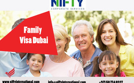 Dubai Family Visa or Dependent Visa Application Process and Renewal