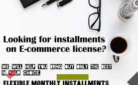 Business license on installments