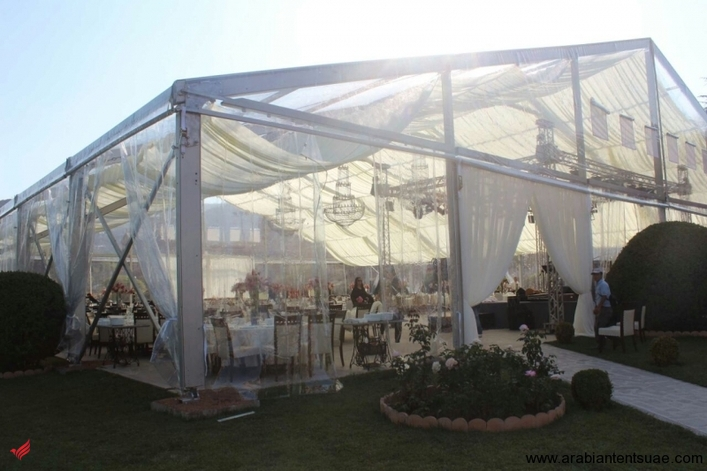 Tent rental service for Wedding, Events and Exhibitions in UAE